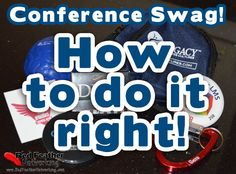 Austen McGee shares his strategy for making the most of conference swag at your next conference. Red Feather Networking.
