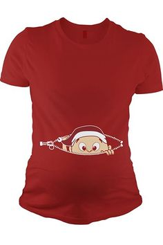 I don't care how close your favorite mama-to-be's due date is to Christmas. No one should have to imagine their child unzipping themselves and popping out like a demented xenomorph.  Crazy Dog T-Shirts Christmas Baby Peeking Shirt, $17.59, available at Crazy Dog T-Shirts. #refinery29 http://www.refinery29.com/worst-gifts#slide-3