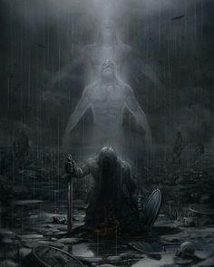 """""""Viking Warrior Going To Valhalla """"…"""