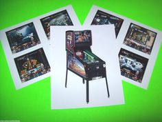 (3) STAR WARS EPISODE I By WILLIAMS ORIGINAL NOS PINBALL MACHINE PROMO PHOTOS #starwarspinball #pinball2000 #pinball