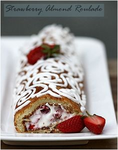 Gluten Free Strawberry Jelly Roll Cake Recipe — Dishmaps