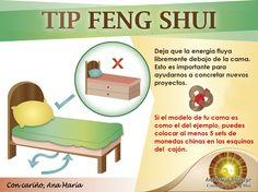 La posici n de la cama seg n el feng shui feng shuu for Como limpiar casa segun feng shui