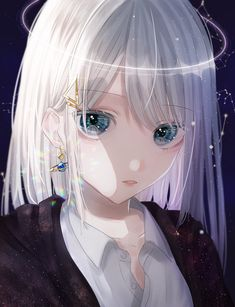 Image about cute in anime girl 💕 by Ali's on We Heart It Manga Anime Girl, Cool Anime Girl, Pretty Anime Girl, Beautiful Anime Girl, Kawaii Anime Girl, Anime Chibi, Anime Love, Anime Girls, Girl White Hair