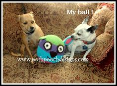 Merry Christmas! Toys to Crochet for your Dog – 13 free patterns | Grandmother's Pattern Book