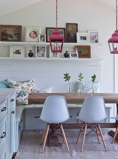 contemporary dining room by Julie Holloway
