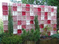 Lovely Rag Quilt