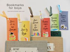 Bookmarks for Boys-Make Reading Fun Again!