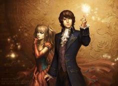 Mae and Aedan by *kir-tat on deviantART