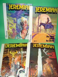 Comics JEREMIAH 4 numeros-comic original en frances-muy buen estado!