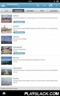 Pakistan Guide By Triposo  Android App - playslack.com , Features of Triposo's guide to Pakistan:★ Suggestions of what's interesting to see and do in Pakistan, depending on time, weather and your location;★ A detailed sights section with all the monuments of Lahore, Karachi, Islamabad, Rawalpindi;★ Eating out section with the best restaurants in Lahore, Karachi, Islamabad, Rawalpindi;★ Discover the nightlife of Pakistan! Bars, pubs & disco's in Lahore, Karachi, Islamabad, Rawalpindi;★…