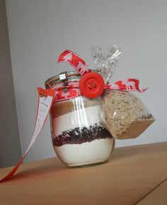 Kerstins bunte Welt: Kuchen im Glas - ein Geschenk aus der Küche