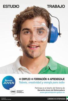 Estudio - Trabajo. Campaña del Gobierno de Extremadura