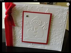 Embossed Christmas Card                                                                                                                                                                                 More