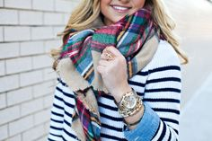 I absolutely love blanket scarves and I dont have one so really wanting one badly!! This one is perfect!