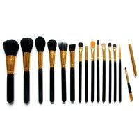 Color: #1,#2 Tubes + wooden handle + nylon hair + wool Length 18cm Package includes: 1 set of brush