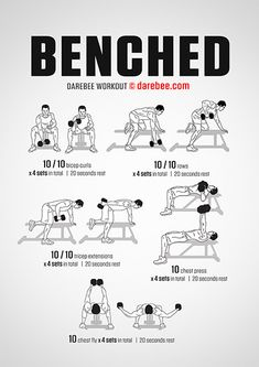 Workout plans, useful home exercises planner to get healthier. Dissect that fitness workout image number 8878864281 here. Fitness Workouts, Weight Training Workouts, Gym Workout Tips, Dumbbell Workout, At Home Workout Plan, At Home Workouts, Workout Plans, Men's Fitness, Workout Motivation