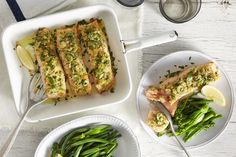 Salmon with Lemon, Olive and Parmesan Crust via @iquitsugar