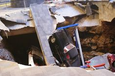 National Corvette Museum Sinkhole, Bowling Green, KY | Atlas Obscura