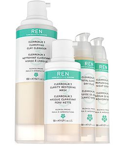 Ren ClearCalm 3 - safe to use while pregnant for those hormonal breakouts.