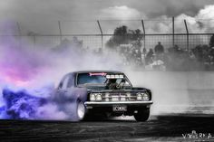"""""""UC SMOKE"""" Blown Holden HT Premier burnout Australian Muscle Cars, Aussie Muscle Cars, Police Cars, Race Cars, Holden Muscle Cars, Car Memes, Car Crash, Car Engine, Road Racing"""
