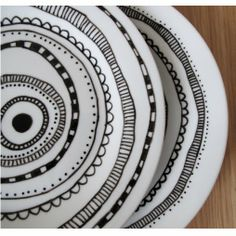 line drawing plates