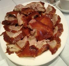 Peking Duck House in Chinatown Peking Duck, Duck House, Chinese Restaurant, Okra, Olives, Poultry, Yum Yum, Bacon, Eggs