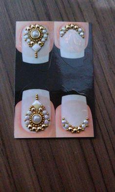 Diamond Earrings, Pearl Earrings, Nail Jewels, Gem Nails, Luxury Nails, Pink Glitter, Nail Art Designs, Swarovski, Gems