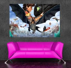 Train Your Dragon How To Wall Stickers Decals Boy Bedrooms Poster Prints I Would Really Like Have A This C