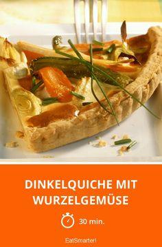 Dinkelquiche mit Wurzelgemüse - smarter - Zeit: 30 Min. | eatsmarter.de