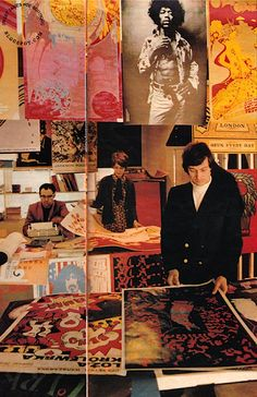 Hangup poster shop, Islington, London 1968. Image scanned by Sweet Jane