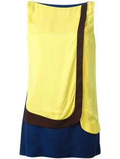 Isola Marras Colour Block Shift Dress