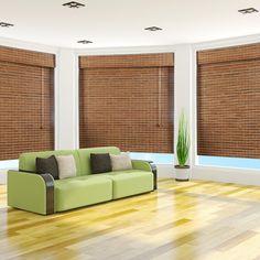 Amazon.com - Dali Natural Bamboo Roman Shade - Free Shipping, 42x74 - Window Treatment Roman Shades