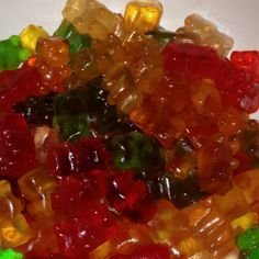 Vodka soaked gummy bears! Babe had the best idea ever! ♥