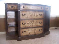Faux Finishes, Kellies Creations Jackson, NJ Handpainted Furniture