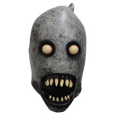 The Boogeyman Mask features gray skin, two blank eyes, and a gaping mouth with horrifying teeth. This latex mask fits over your entire head and will frighten anyone who sees it. Saw Halloween Costume, Halloween Costume Accessories, Adult Halloween, Halloween Face Makeup, Scary Halloween Masks, Halloween Stuff, Halloween Ideas, Horror Monsters, Scary Monsters