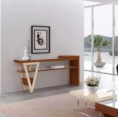 aparador moderno geométrico grécia/ madeira e laca off white