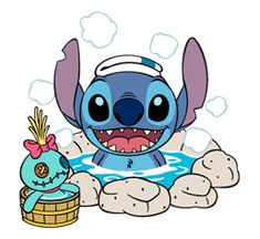 Stitch Stickers by The Walt Disney Company Ltd ( Japan). Stitch (also known as Experiment is a fictional character in the Lilo & Stitch. Lilo Stitch, 626 Stitch, Lilo And Stitch Quotes, Cute Stitch, Disney Artwork, Disney Drawings, Cute Disney Wallpaper, Cute Cartoon Wallpapers, Lilo And Stitch Characters