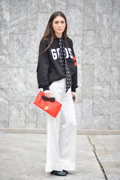 This Italian It-Girl Is Your New Style Muse via @WhoWhatWearAU