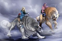Rite of Fortitude by Ebbarie on DeviantArt  I would ride this sucker into battle like a champ!!
