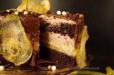 Obiad gotowy!: Tort czekoladowo-gruszkowy - obłędny i uzależniający:)