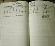A future log in a vertical layout, with just four months because i don't really need a six months view.  #bulletjournaljunkies #bulletjournalinspire #bulletjournal #bulletjournaling #minimalistbujo #minimalistbulletjournal #bujo #weekly #layout #black #ink #moleskine #bujoinspire #draw #drawwithme #planner #planneraddict #planwithme