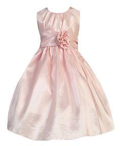 3a86848d6 Sweet Kids Girls Shimmering Pleated Crystal Taffeta Flower Girl Dress  Little Girls Fancy Dresses, Pink