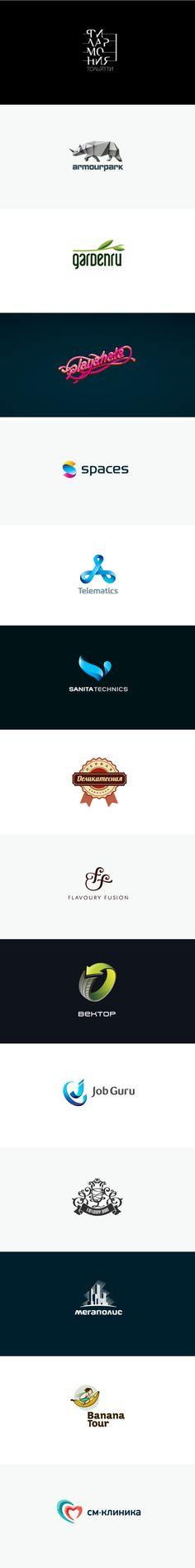 Logos by Igor Hrupin