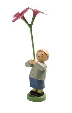 The Boy with a Carnation - Wendt and Kühn Blossom Kinder (Flower Children) Collection