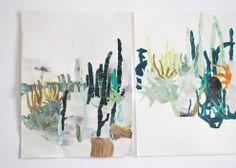 Yu Yasutake...watercolor