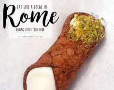 Eat Like a Local in Rome - Eating Italy Food Tour Italy Food, Like A Local, Teacups, Lifestyle Blog, Rome, Tours, Eat, Ethnic Recipes, Travel
