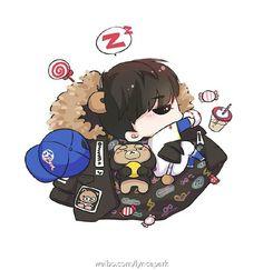 Cr: KumaPARK_喵 [ via weibo ]