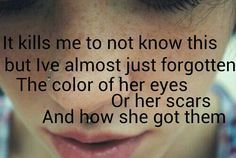 """Rise Against: Savior, """"It Kills Me To Not Know This But I've Almost Just Forgotten The Color Of Her Eyes, Or Her Scars And How She Got Them."""""""