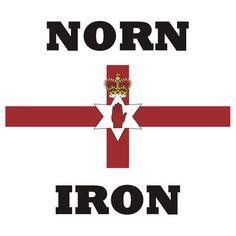 'Northern Ireland' T-Shirt by BelfastBoy Northern Ireland Fc, Northern Ireland Troubles, Orange Order, Red Right Hand, Best Of British, King William, Irish Roots, Belfast, Honesty