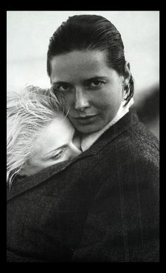 Isabella Rossellini and @Madonna by Herb Ritts. #Icons #Style